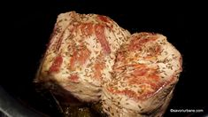 rumenire carne de porc la multicooker sau in cratita Multicooker, Cabbage, Bacon, Vegetables, Blue Prints, Pork, Cabbages, Vegetable Recipes, Pork Belly