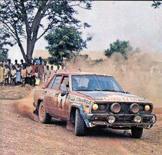 1981 Salonen - Harjanne (Datsun Violet 160 J)