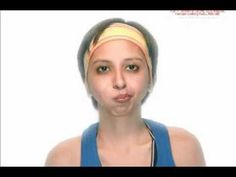 How to lose weight around your face - Face Exercise The Blowfish  his exercise works away the puffiness from your cheeks, smoothing and sculpting them to form lean angles. By highlighting the Zygomatic arch, this exercise also helps to bring out and define your cheekbones. For more videos visit http://ez-gymnasium.com/