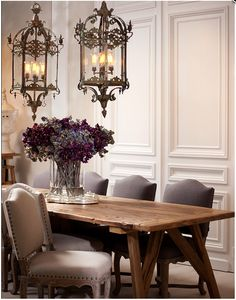 Luxury design for stylish dining by #Eichholtz. @Courtney Baker Baker O'Catherine-Home