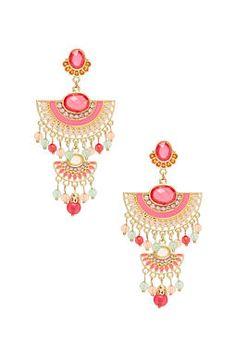 2b Far East Chandelier Earrings