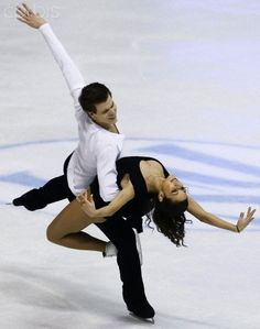 Elena Ilinykh and Nikita Katsalapov of Russia - Ice Dance Free Dance competition at the ISU Figure Skating European Championships