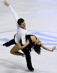 Elena Ilinykh and Nikita Katsalapov of Russia - Ice Dance Free Dance competition at the ISU Figure Skating European Championships