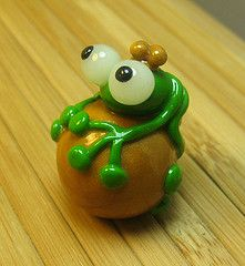 clay frogs | Frog prince