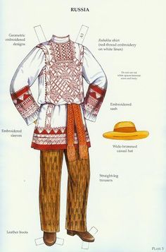 Russian Folk Costumes Paper Dolls (Ming-Ju Sun) 8 of 11 Folk Costume, Costumes, Merry Widow, Illustration Mode, Picasa Web Albums, Thinking Day, Russian Folk, Paper Toys, Fancy Dress