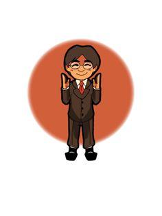 Saturo Iwata by Kf-Black.deviantart.com on @DeviantArt