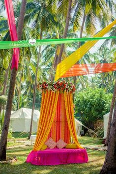 Looking for latest Outdoor Wedding Decorations? Check out the trending images of the best Indian Outdoor Wedding Decoration ideas. Tent Decorations, Engagement Decorations, Indian Wedding Decorations, Flower Decorations, Indian Decoration, Desi Wedding Decor, Goa Wedding, Wedding Stage, Trendy Wedding