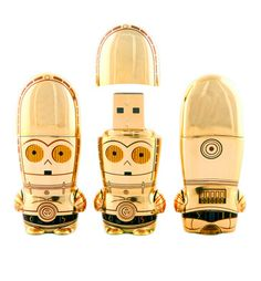 C-3PO Mimobot USB flashdrive that my roommate gave me :)