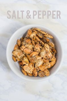 Roasted Pumpkin Seeds /// Six Ways - Back to Her Roots