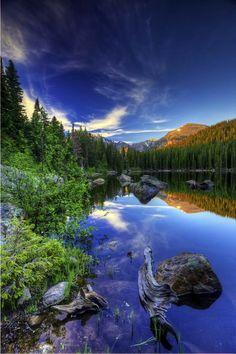 Bear lake, Rocky Mountain national park , Colorado USA