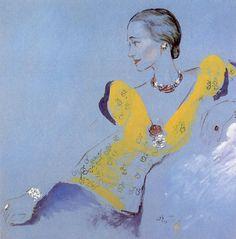 The Sensual Starfish - The Duchess of Windsor ( Wallis Simpson ) by Cecil Beaton, 1936 - DD