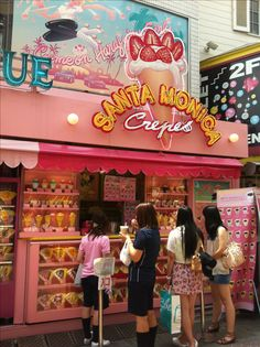 SWEET japanese crepe shop