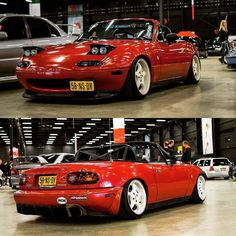 Mazda MX-5 MK1 NA Red LED /'Trade/' Wide Angle Side Light Beam Bulbs Pair Upgrade
