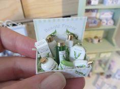Luxury Muguet Gift Set ~ Dollhouse Miniature ~ 1inch Scale♡ ♡