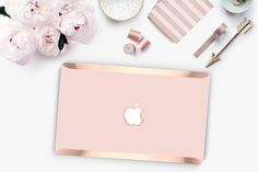 Rose Gold Hombre and Rose Gold Edge Hybrid Hard Case for Apple Mac Air & Mac Retina , New Macbook 2016 - Platinum Edition by Cliqueshops on Etsy