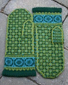 Ravelry: Postwar Mittens pattern by Mary Ann Stephens