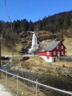 Steinsdalsfossen Waterfall - Norheimsund, Norway