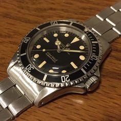 ref. 5513 submariner gilt dial