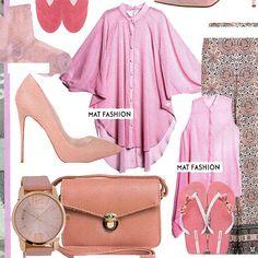 | Think Pink | Δημιουργήστε το απόλυτο girly look, επιλέγοντας το ροζ στα σύνολα σας. #matfashion #pink #inspiration as seen in @egoweekly #magazine • #mat_summer15 #collection #ootd #egoweekly #greekmagazine #polkadots #realsize #fashion #pluspositive #instafashion #fashionista #pink #girly #mood