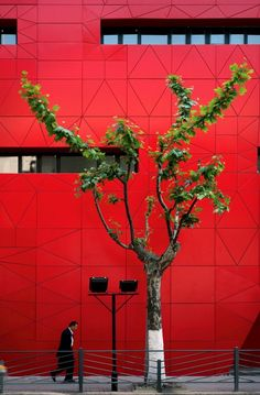 Red Wall / 3Gatti Architecture Studio