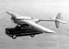 131 best Flug   Technologien images on Pinterest   Airplanes  Plane     Convair Model a Flying Automobile The Convair Model 118 ConvAirCar  also  known as the Hall Flying Automobile  was a prototype flying car of which  two were