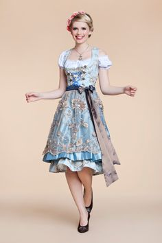 Angermaier dirndl 2014 german traditional dress clothing