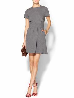 TINLEY ROAD Pleated Fit N Flare Dress #Clothes #Shopping #FitNFlare