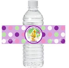 Personalized Water Bottle Label Tinkerbell by ThatPartyChick, $8.00