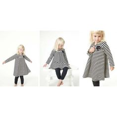 Minikrea 20003 - T-Shirtjurk 6m - 3j Sewing patterns for kids.