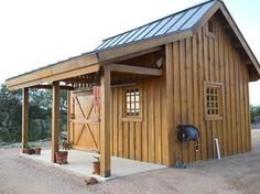 Barn Homes Cabins Garages Commercial Projects Garden Sheds Gallery Category Sand Creek Post Beam Diy Shed Plans, Storage Shed Plans, Built In Storage, Garage Plans, Cabin Plans, Backyard Sheds, Outdoor Sheds, Backyard Barn, Outdoor Storage Sheds