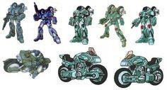 Robotech: Las Maquinas (Mega Post - Curiosidades)