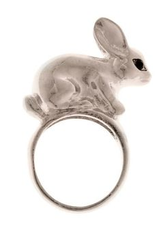 """Peter Silver Tail Ring"", so adorable and clean looking. $14.99"