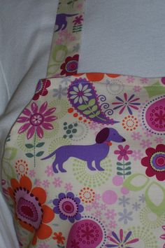 Plus Size Apron  Puppies and Posies by ApronsandMore on Etsy, $21.95