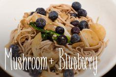 Mushroom + Blueberry