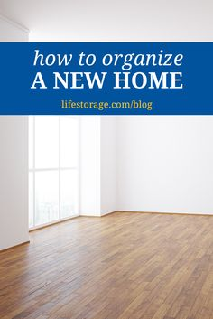 A new home is like a blank slate. It's an opportunity to create organizational systems from scratch to help foster organization habits in your new space to avoid clutter down the road. Here's how to organize a new home as you unpack.