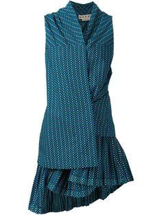 Marni Asymmetric Dress - Capitol - Farfetch.com