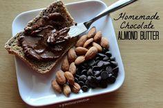 Homemade Chocolate Almond Butter - Girl Meets Nourishment