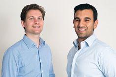 Die beiden Geschäftsführer von Upcload: Sebastian Schulze (links im Bild) und...Die beiden Geschäftsführer von Upcload: Sebastian Schulze (links im Bild) und Asaf Moses