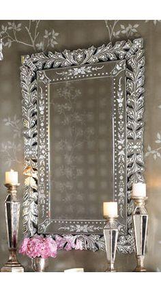 Gorgeous Venetian mirror.