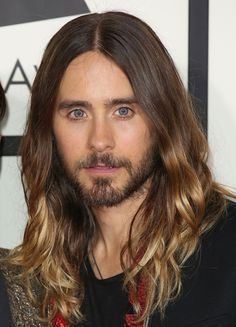 Jared Leto...I just want to swim in those eyes.