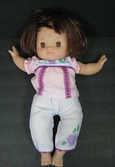 18 baby doll brown eyes soft body vinyl head feet hands