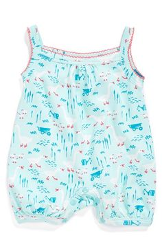 jaxxwear+Sleeveless+Pima+Cotton+Bubble+Romper+(Baby+Girls)+available+at+#Nordstrom
