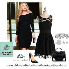 """Little Black Dress"" by vlaramee on Polyvore"