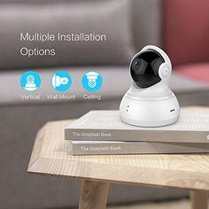 YI Technology - La nostra missione è quella di rendere facile e accessibile a tutti, la più moderna tecnologia per i video e le immagini.  YI Dome Camera: Copertura a 360 gradi Panoramica e Video 720px. Questa telecamera e' stata progettata con una risoluzione HD da 720px. Audio ad Alta Fedeltà.