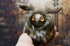Купить Моль домашний - коричневый, чудик, сказочный персонаж, сказочный, монстрик, необычное существо, существо