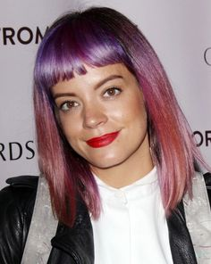 Lily Allen - along with Bob Geldof one of the worst Champagne Socialists going. Hates her own people