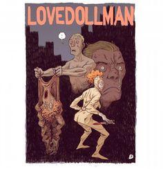 #illustration #drawing #comic #comics #lovedoll #lovedolls #sexdoll #superheroes #weird #horror #marklaszlo #latex #latexsuit #suit #fetish #whatever by marklaszlo666