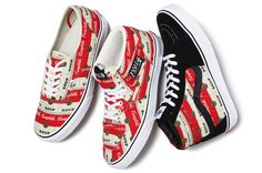 VANS X SUPREME WARHOL CAMPBELL'S SOUP PACK SNEAKERS