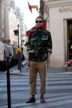 L'F + Francio and The Sartorialist  http://www.thesartorialist.com/photos/on-the-street-rue-saint-honore-paris-11/