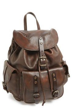 Frye 'Veronica' Leather Backpack available at #Nordstrom